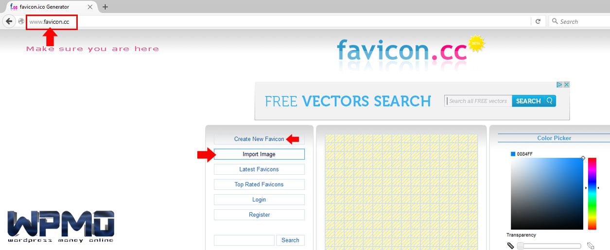 Create-New-Favicon