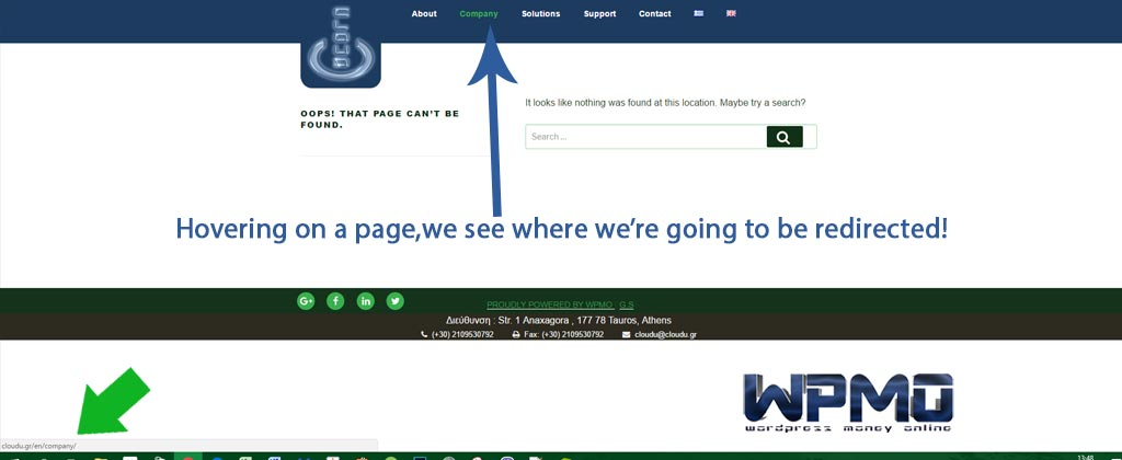 Give WP its own directory
