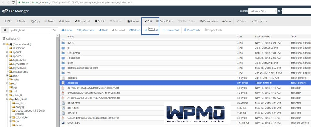 Give-Wordpress-It's-Own-Directory
