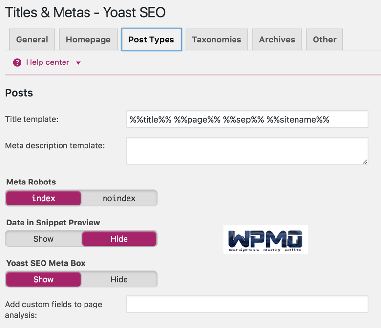 Higher rankings post types in yoast seo